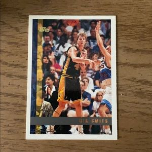 Rik Smits Indiana Pacers Basketball Card